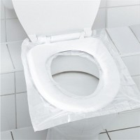 6 PCs Pack Disposable Waterproof Toilet Seat Cover Mat