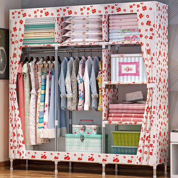 Apple Prints Multi Sided Large Wardrobe