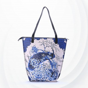 Bohemian Prints Casual Shoulder Bags - Peafowl