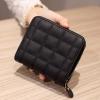 Box Texture High Quality Zipper Purse