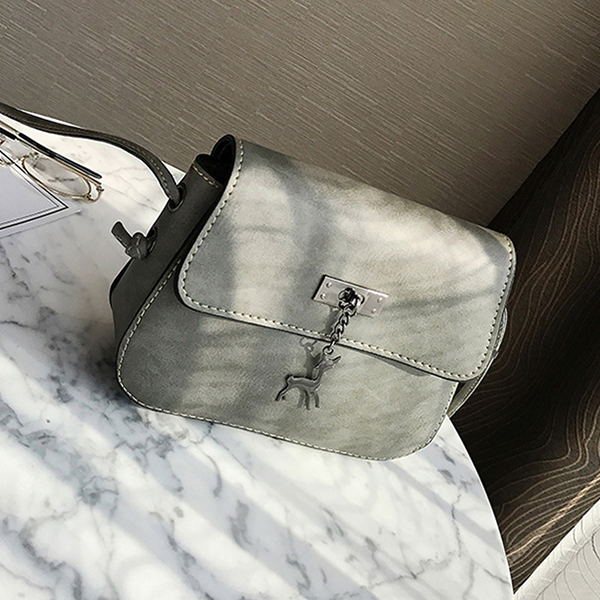 Designers Exclusive Mini Shoulder Bag - Gray