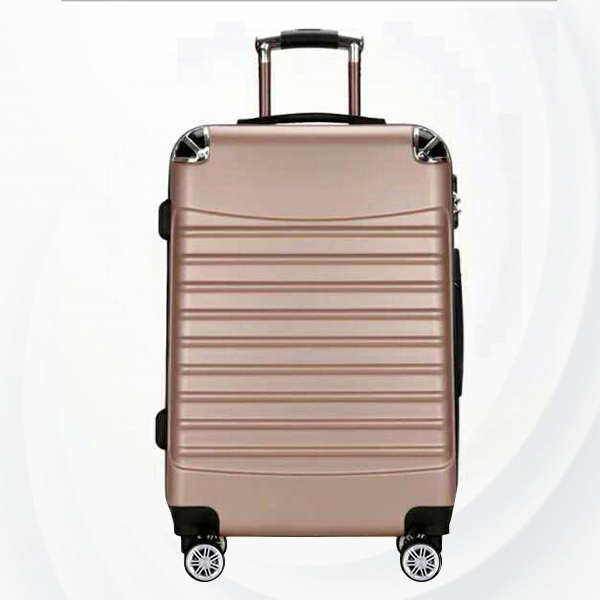 Universal Hand Carry Travel Wheel Suitcase Luggage - Golden