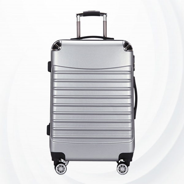 Universal Hand Carry Travel Wheel Suitcase Luggage - Gray