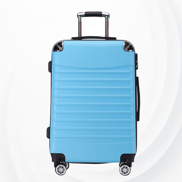 Universal Hand Carry Travel Wheel Suitcase Luggage - Sky Blue