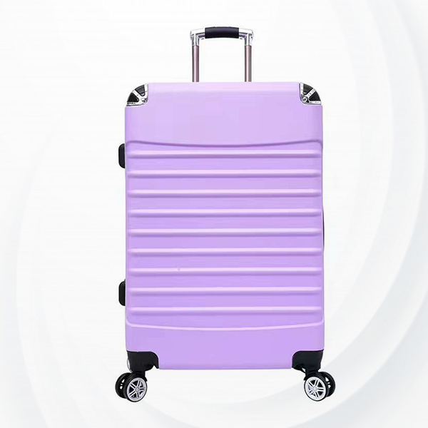 Universal Hand Carry Travel Wheel Suitcase Luggage - Purple