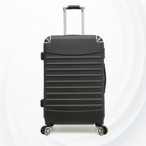 Universal Hand Carry Travel Wheel Suitcase Luggage - Black