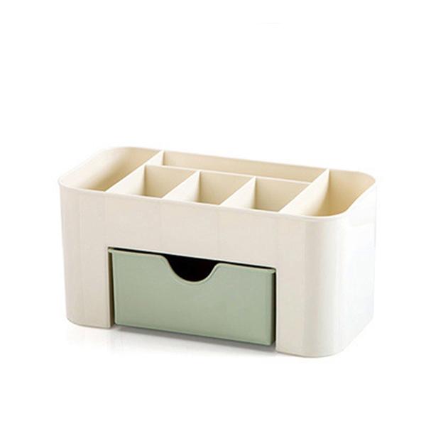 Multi Function Dressing Table Storage Box - Green