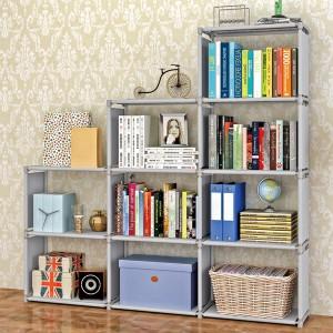 Multi Storey Three Partition Organizer Shelf