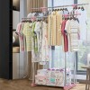 Double Stand High Quality Dress Organizing Rack