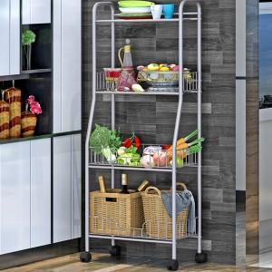 Four Layer Modern Kitchen Rack