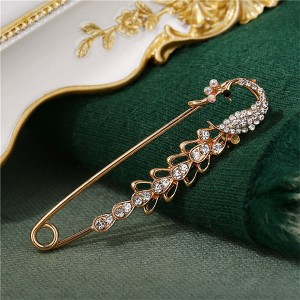 Crystal Fancy Multipurpose Use Safety Pin
