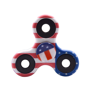 Best Quality American Flag Fidget Spinner
