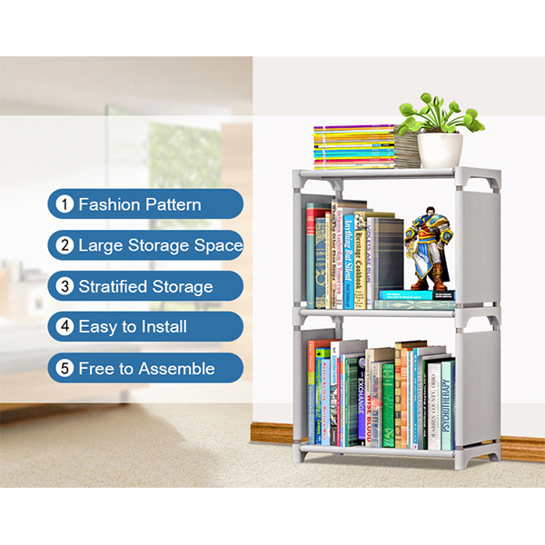 Multi Storey Three Partition Organizer Shelf