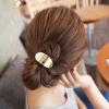 Mold Metal Golden Elastic Hair Band