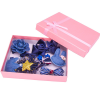 Multi Shaped Bow Crown Hair Bands And Clips - Blue
