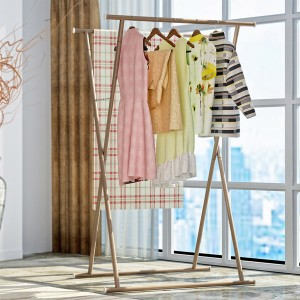 Double Stand Coffee Dress Organizing Rack