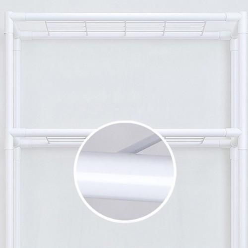 Smart Home Multipurpose Metal Rack - White