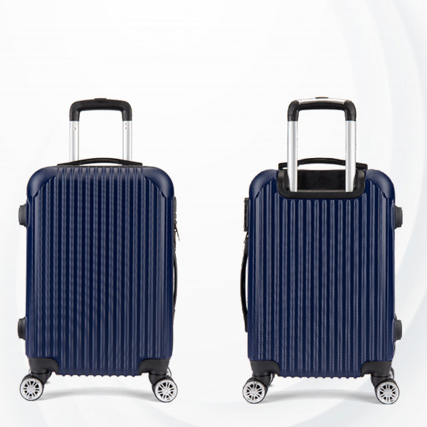 Protective Hard Case Traveler Hand Carry Luggage - Dark Blue