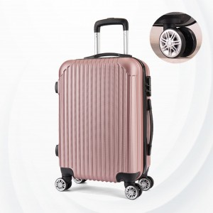 Protective Hard Case Traveler Hand Carry Luggage - Rose Pink