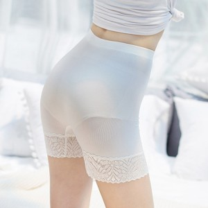 High Waist Belly Shaper Summer Underwear - White