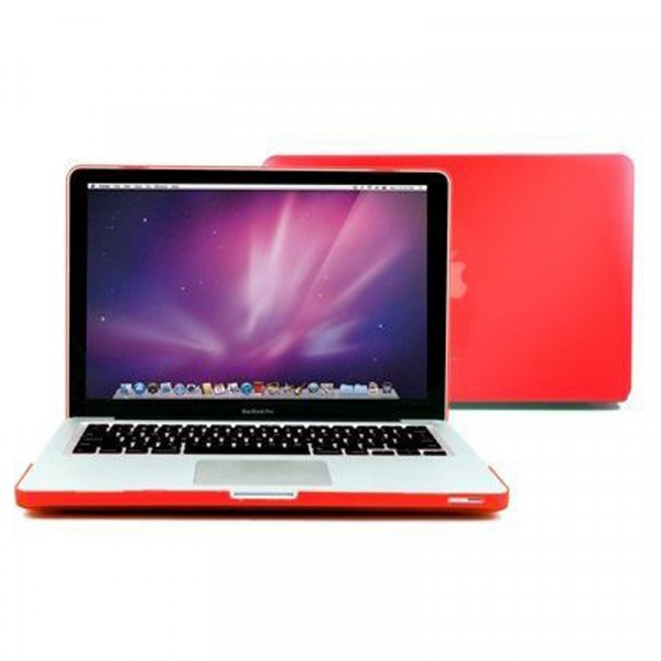 Red Hard Plastic  Case Cover For Macbook Retina 15.4 inch