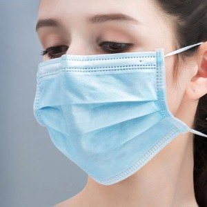 10 Pieces High Quality Air Filter Protective Face Masks Set - Blue