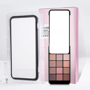 Mobile Shape Flap Mirror Eye Shadow Kit - Shades One