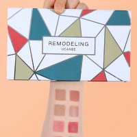 Four in One Multi Shaded Makeup Groomer Palette - C