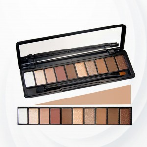 10 Shades Eye Shadow Bar Palette - Dark