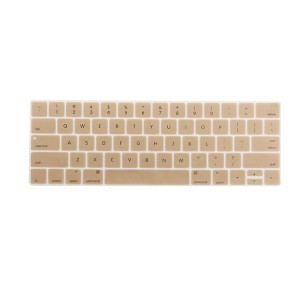 Silicone Keyboard Skin Cover Protector for Apple MacBook Gray