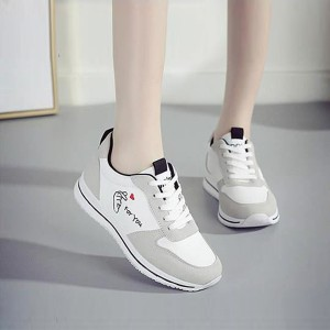 Lace Flat Sole Canvas Casual Wear Sneakers