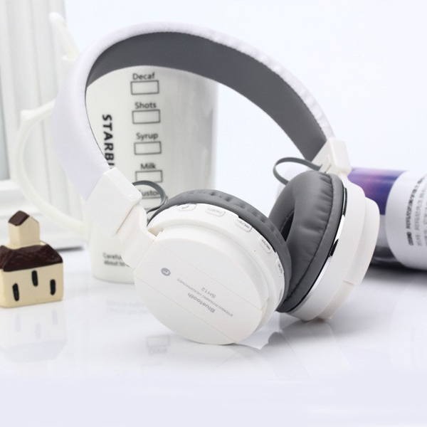 Sports Wireless Ear Comfort Bluetooth Headphones - White