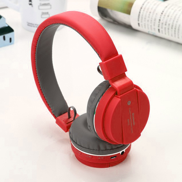 Sports Wireless Ear Comfort Bluetooth Headphones - Red