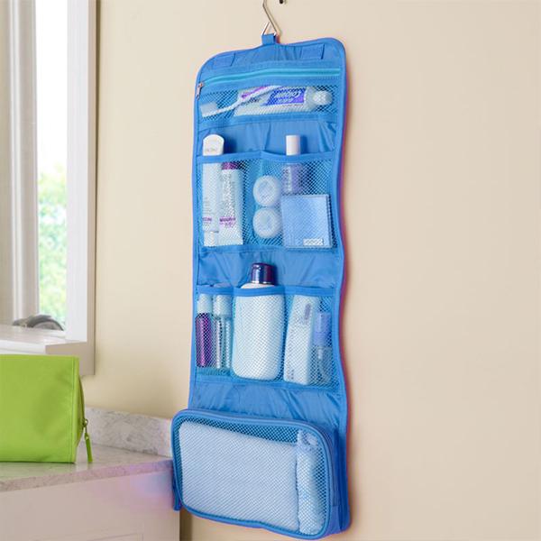 Multi Pocket Waterproof Traveller Bag - Blue