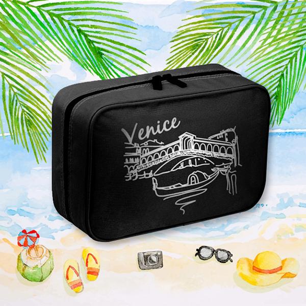 Smart Traveller Organizer Bag - Black