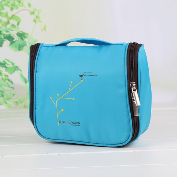 Travel Organizer Smart Canvas Bag - Blue