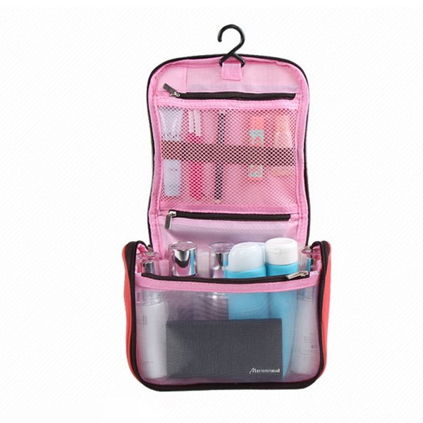 Travel Organizer Smart Canvas Bag - Pink