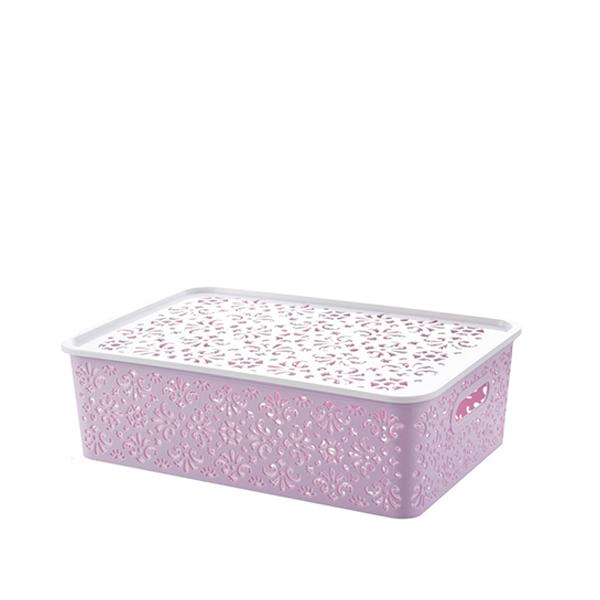 Multi Purpose Organizer Pink Storage Box - Small