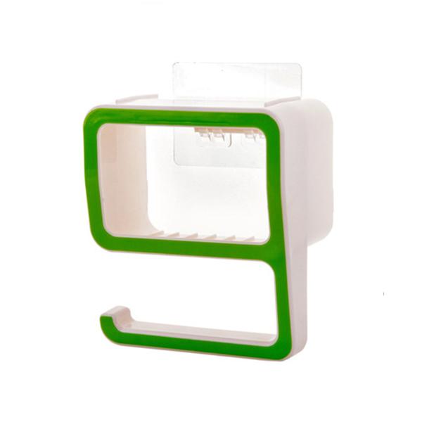 Quality Plastic Multipurpose Wall Hanger - Green
