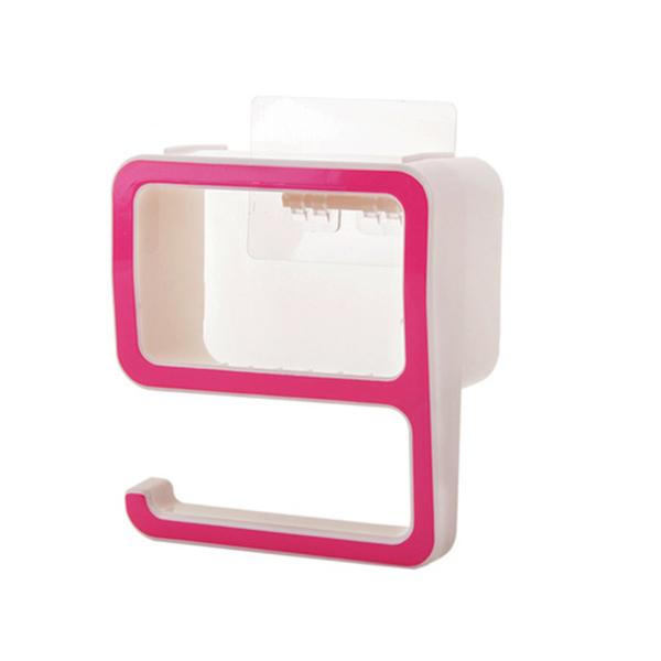 Quality Plastic Multipurpose Wall Hanger - Pink
