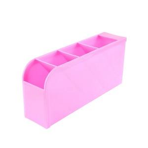 Multipurpose Smart Divider Storage Box - Pink