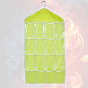 Undergarments And Socks Hanger Storage - Green