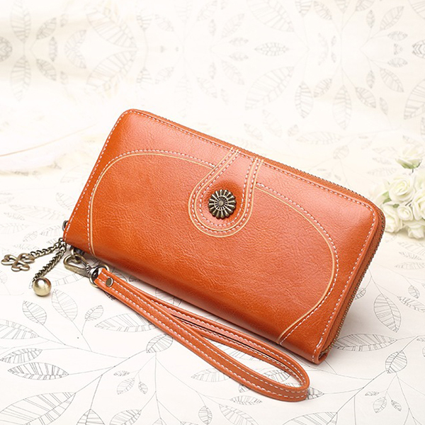 Brown PU Leather Quality Wallet