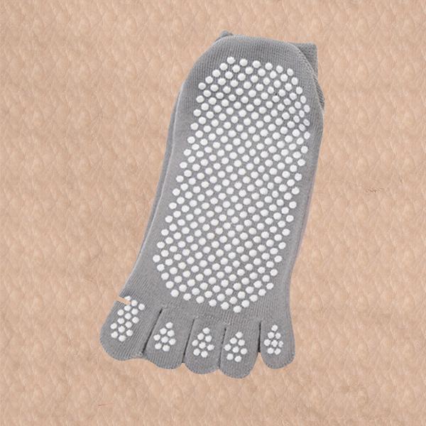 Sports Non-Slippery Yoga Training Socks - Grey