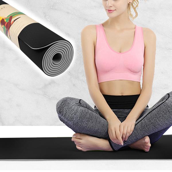 Non Slippery Yoga Training Quality Mat