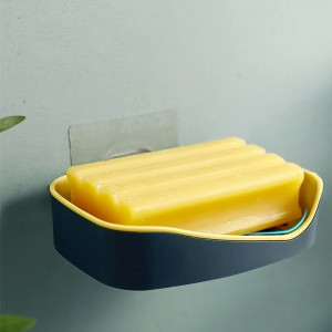 High Quality Easy Drain Soap Dish - Green