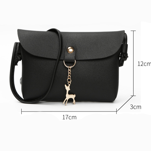 Deer Hanging Mini Shoulder Bag - Pink