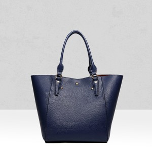 Quality Blue Retro Shoulder Bag