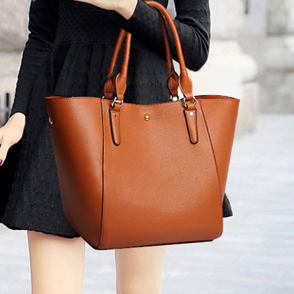 Quality Brown Retro Shoulder Bag