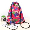Butterfly Prints Drawstring Traveller Bags - Multicolor